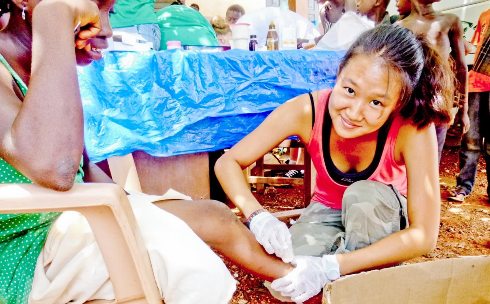 ガーナで地域型公衆衛生活動に取り組む日本人インターン